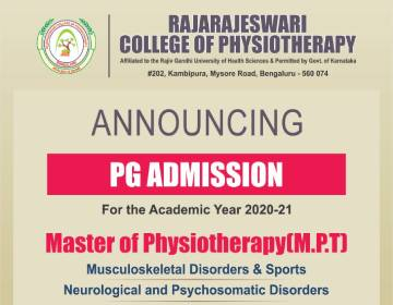 Admission Open for 2020-21 MPT