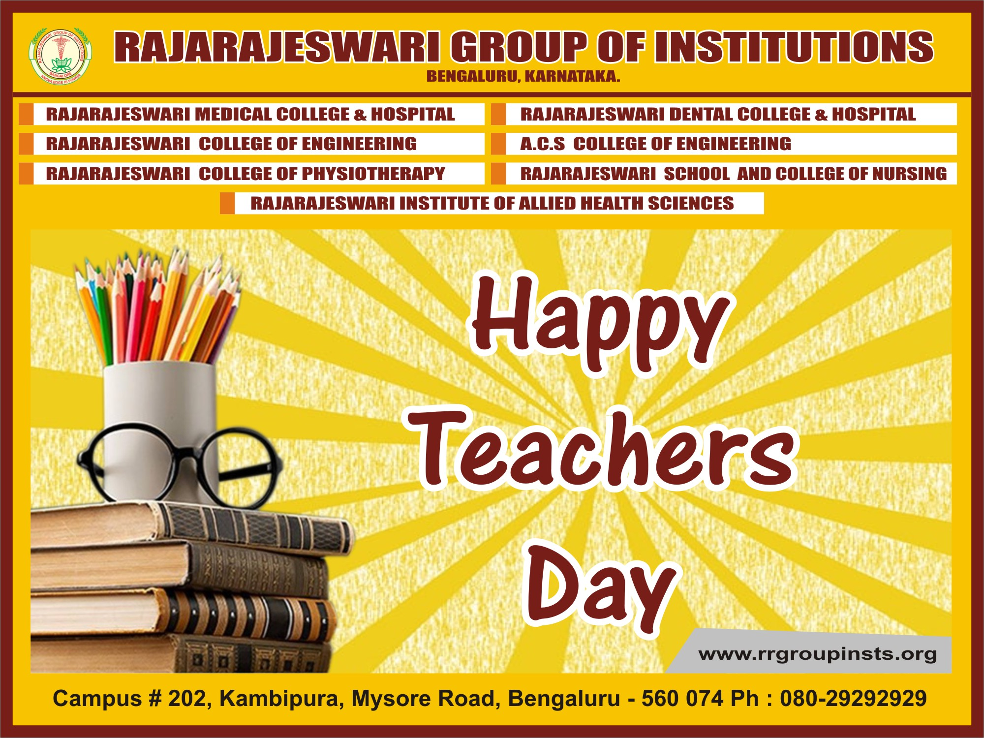 Teacher's Day Celebrations at RRCP