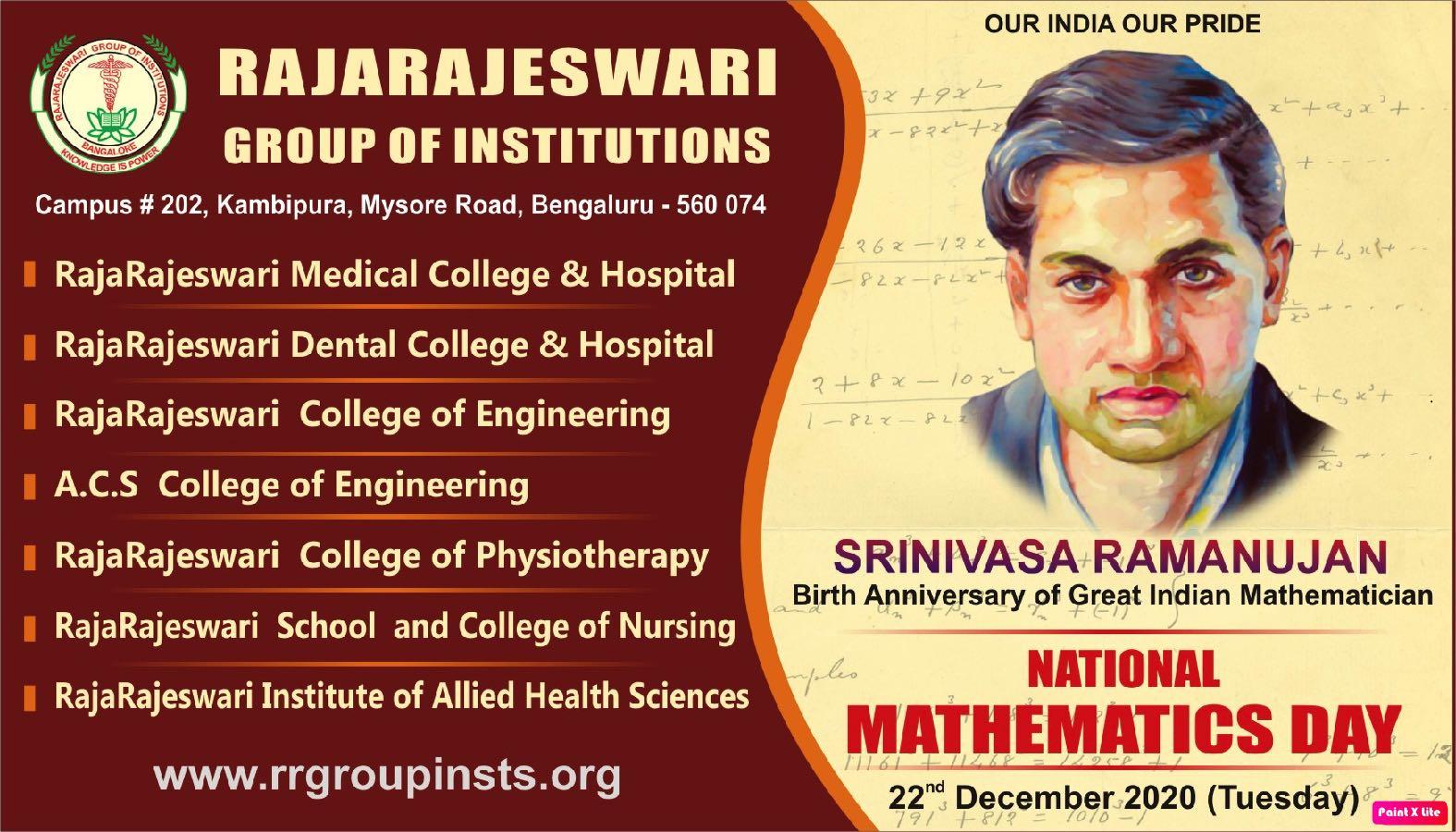 National Mathematics Day