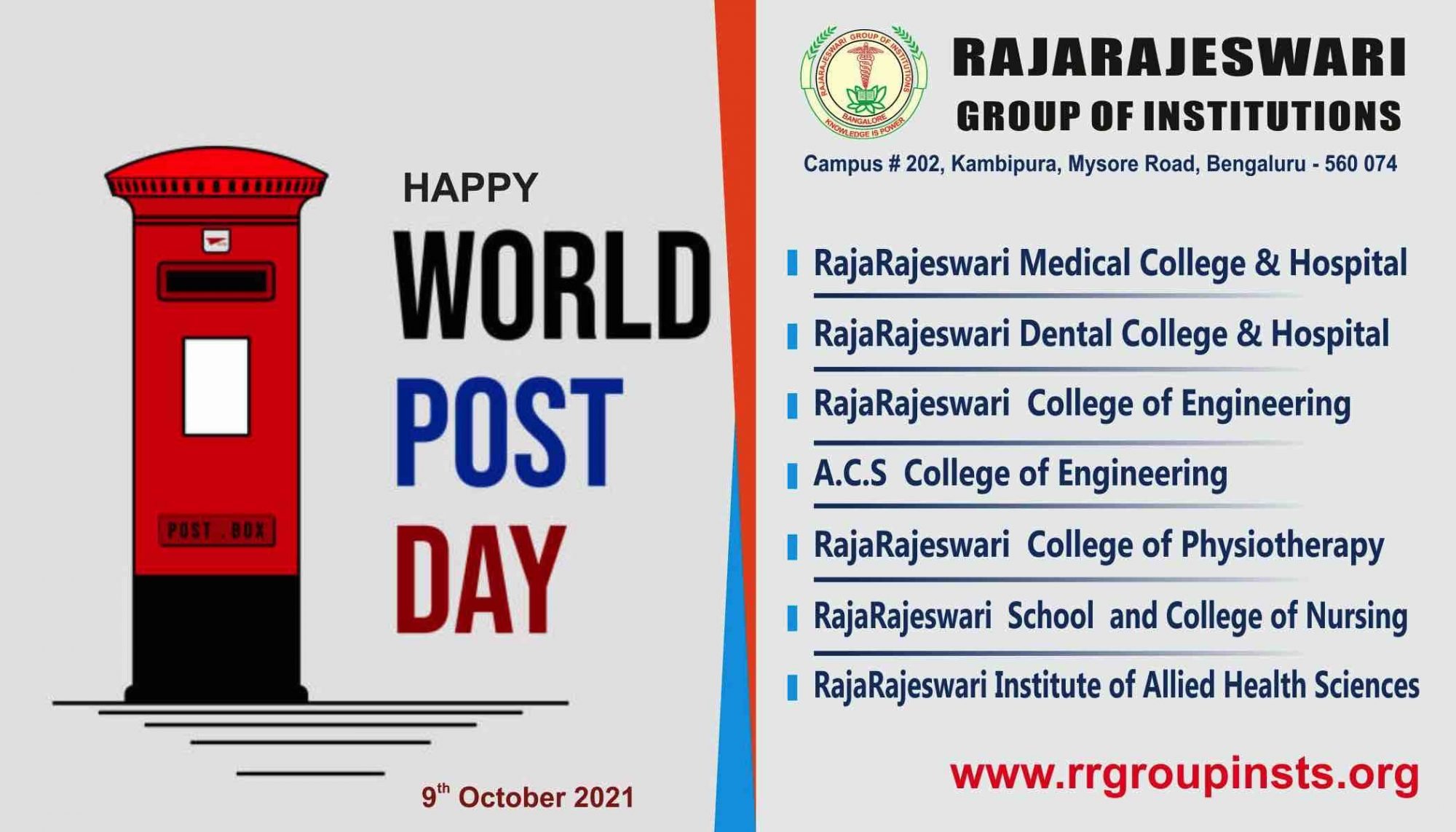 World Post Day 2021